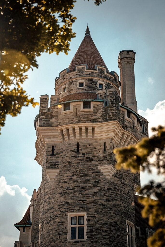 Casa Loma is a popular attraction that you can visit on a virtual tour in Ontario.