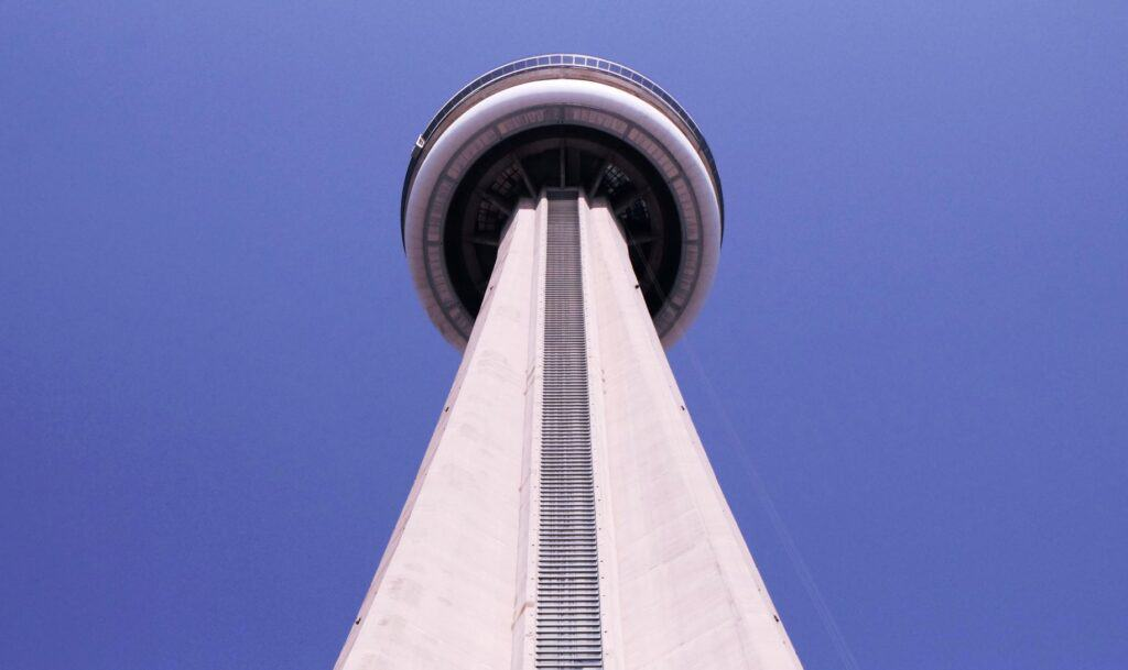 The CN Tower is one of the virtual tours in ONtario